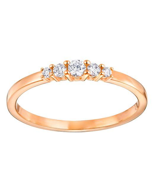 Swarovski | Metallic Frisson Ring | Lyst