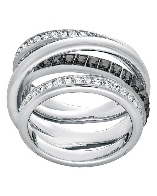 Swarovski   Metallic Dynamic Ring   Lyst
