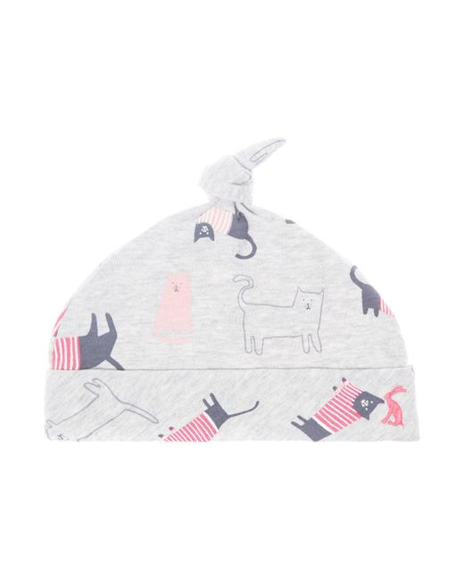 Joules | Gray Baby Girls Cat Print Hat | Lyst