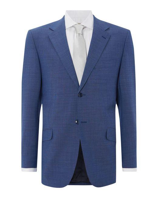 Howick | Blue Folcroft Textured Suit Jacket for Men | Lyst