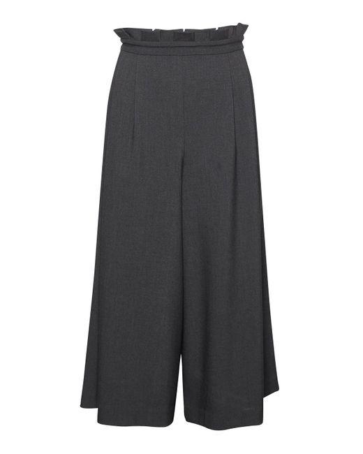 Great Plains | Black Freya Brushed Culottes | Lyst