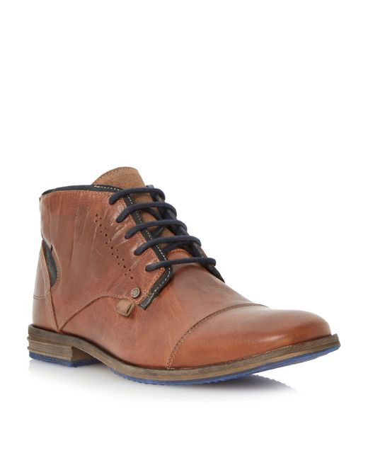 Dune | Brown Choppa Casual Chukka Boots for Men | Lyst