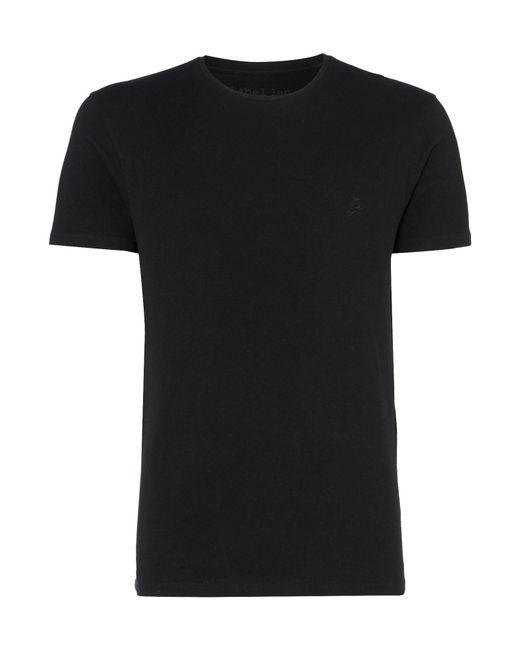 Label Lab - Black Kings Cotton Crew Neck T-shirt for Men - Lyst