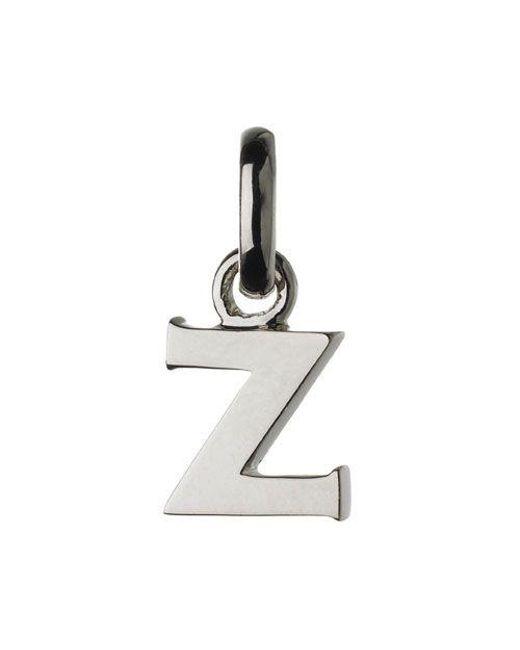 Links of London | Metallic Z Charm | Lyst