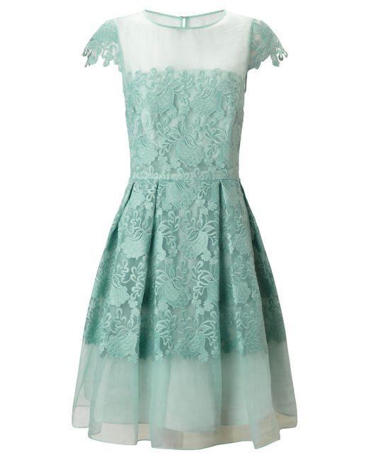 Ariella | Green Raegan Prom Dress | Lyst