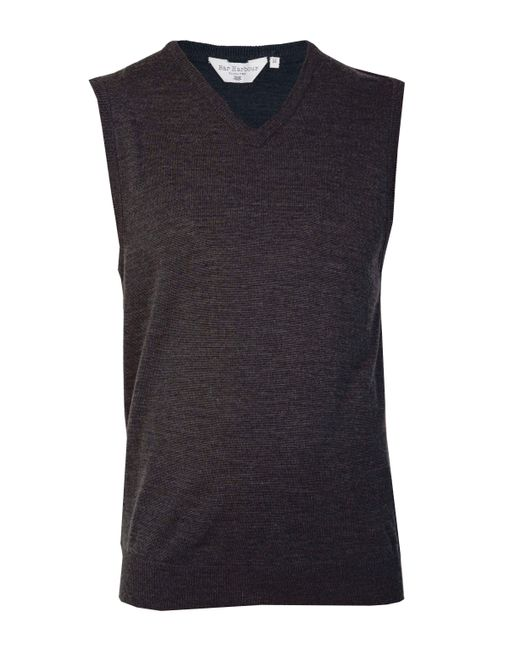 Double Two - Multicolor Men's V Neck Sleeveless Sweater for Men - Lyst