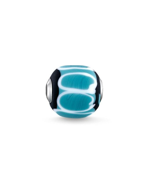 Thomas Sabo - Blue Turquoise Glass Hand-crafted Africa Karma Bead - Lyst
