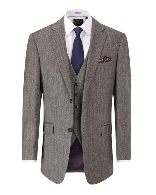 Skopes - Gray Tilden Suit Jacket for Men - Lyst