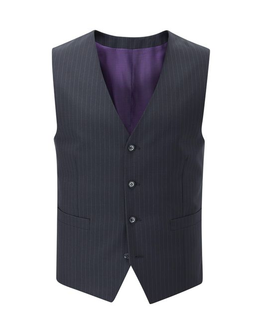 Skopes - Blue Darwin Suit Waistcoat for Men - Lyst