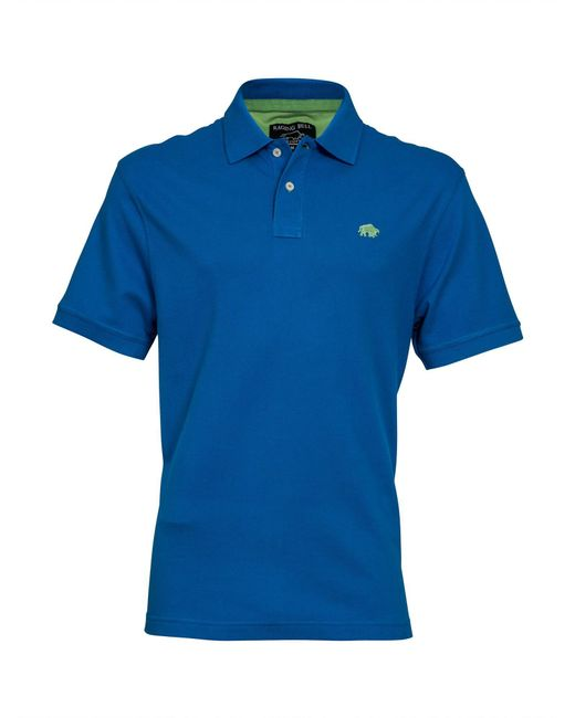 Raging Bull - Blue Big & Tall New Signature Polo Shirt for Men - Lyst
