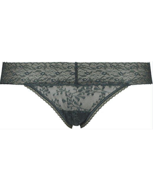 CALVIN KLEIN 205W39NYC - Green Bare Lace Bikini - Lyst