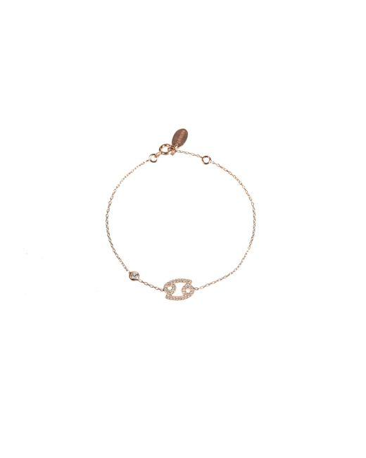 Latelita London - Metallic Zodiac Cancer Bracelet Rose - Lyst