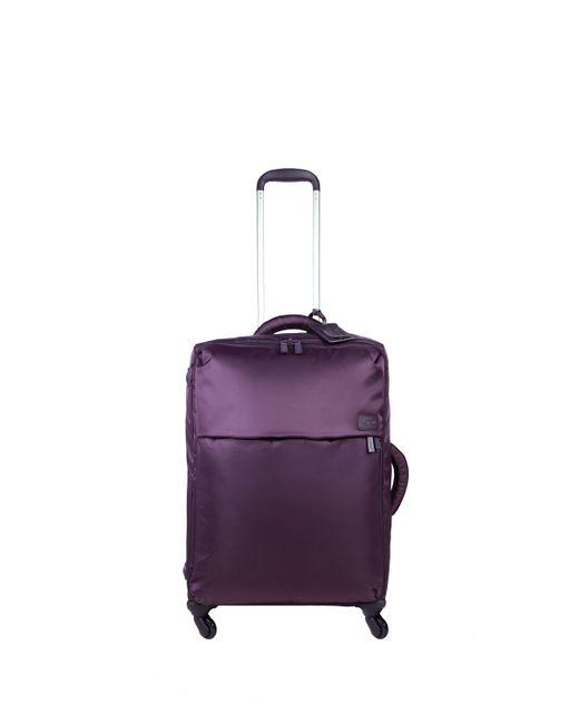 Lipault | Original Plume Purple 4 Wheel Medium Case | Lyst
