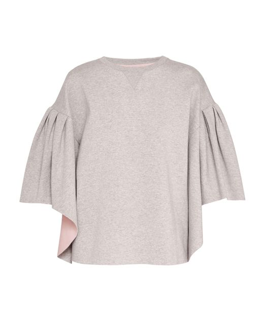 Ted Baker - Gray Orcher Wool And Cashmere-blend Jumper - Lyst