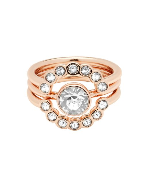 Ted Baker | Metallic T13172402 Cadyna Crystal Ring | Lyst
