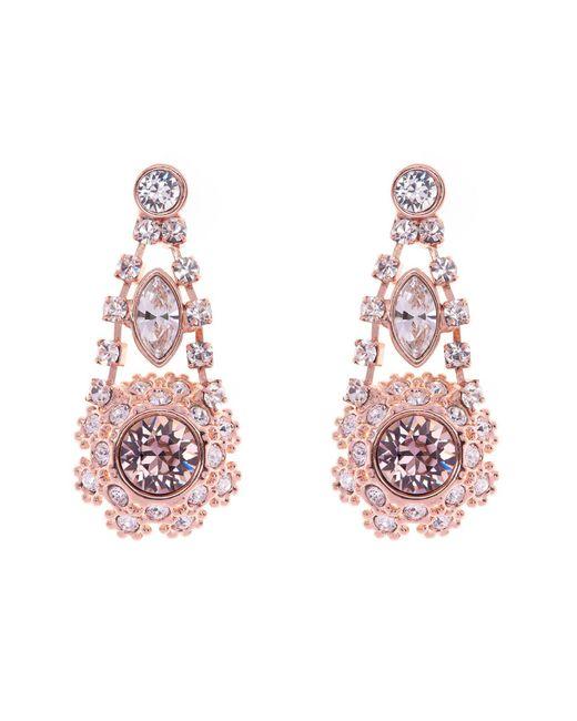 Ted Baker - Pink T15862416 Daisy Lace Drop Earrings - Lyst