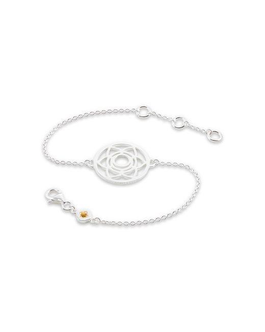 Daisy London - Metallic Sacral Chakra Chain Bracelet - Lyst