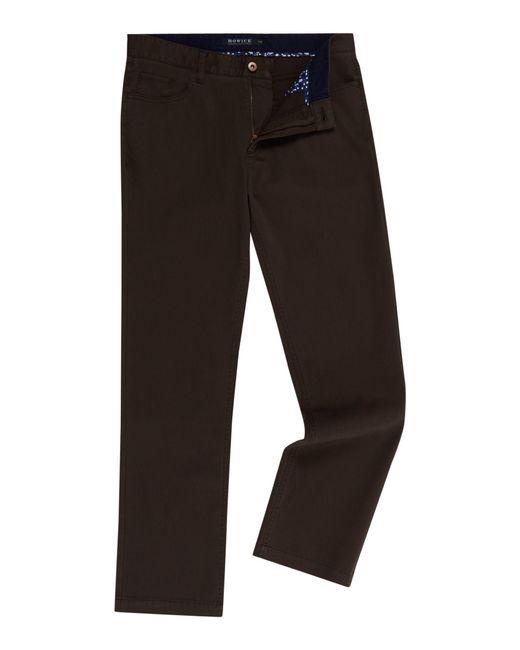 Howick - Green Ashland Bedford Fine Cord Trouser for Men - Lyst
