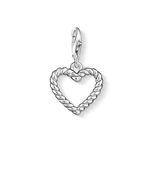 Thomas Sabo - Metallic Charm Club Heart Charm - Lyst