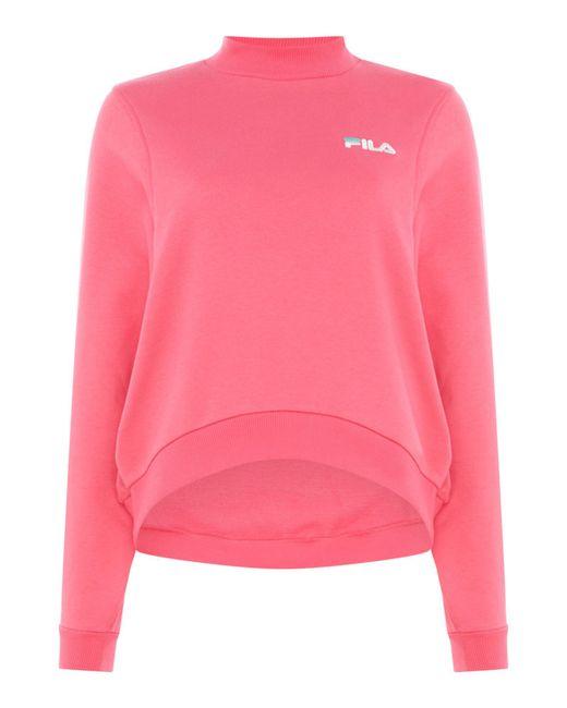 Fila - Pink Summer Sweatshirt - Lyst