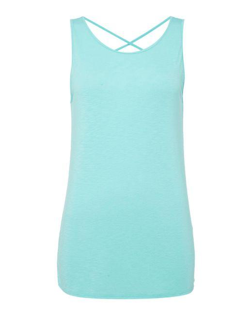 Label Lab | Multicolor Sunray Back Jersey Vest | Lyst