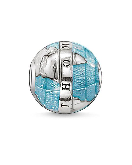 Thomas Sabo - Blue Karma Bead Wonderful World - Lyst