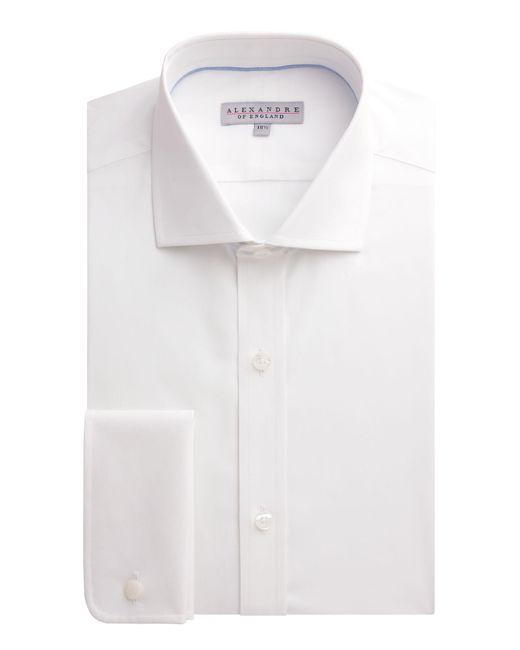 Alexandre Of England - White Poplin Plain Slim Fit Long Sleeve Formal Shirt for Men - Lyst