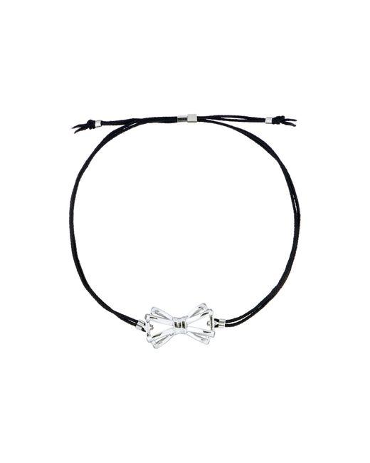 Ted Baker   Metallic Shyra Gold Sweetie Bow Cord Bracelet   Lyst