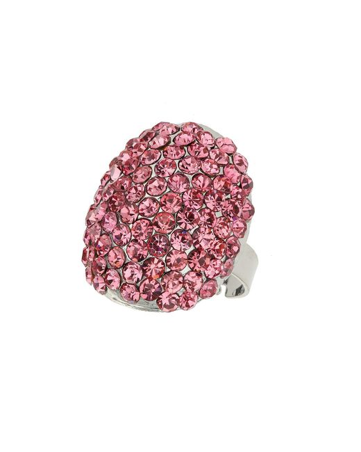 Mikey | Pink Oval Ring | Lyst
