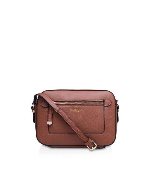 Carvela Kurt Geiger | Brown Mia2 X Body Bag | Lyst