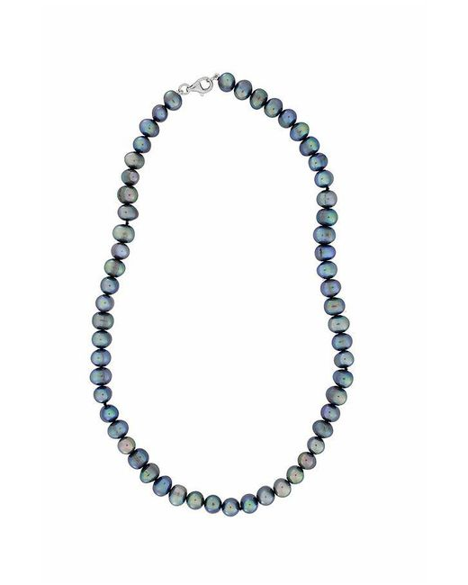 Azendi   White Peacock Pearl Necklace   Lyst