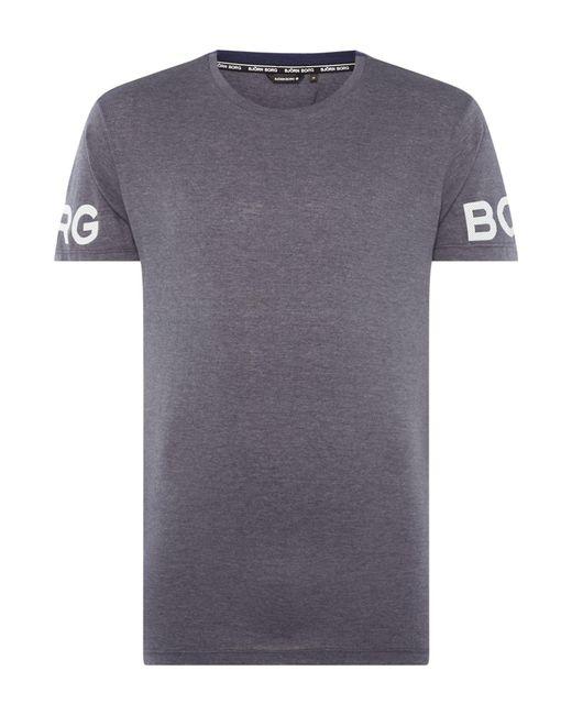 Björn Borg | Gray Men's Alvin T-shirt for Men | Lyst