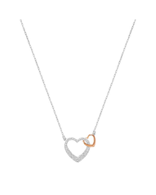 Swarovski | Metallic Dear Necklace | Lyst