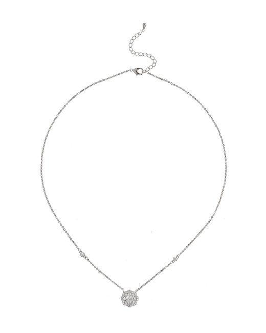 Mikey | Blue Daisy Design Cubic Centre Necklace | Lyst