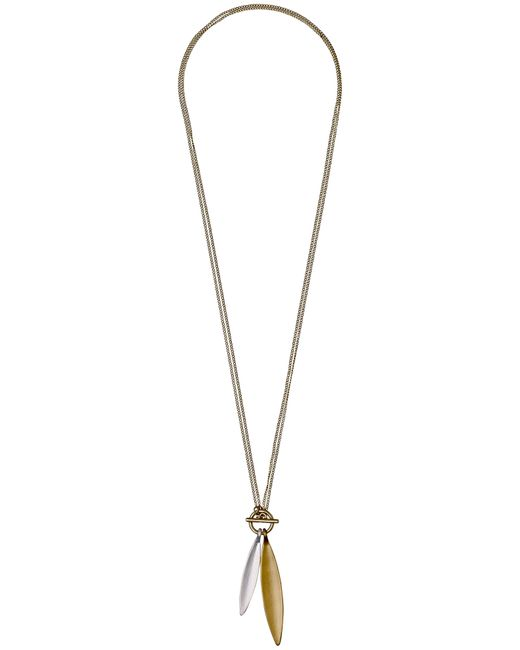 Pilgrim - Metallic Luna Gold Plated Necklace - Lyst