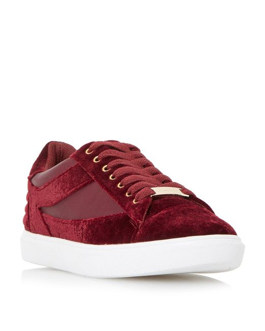 Dune - Red Elize Mix Material Sport Trainers for Men - Lyst