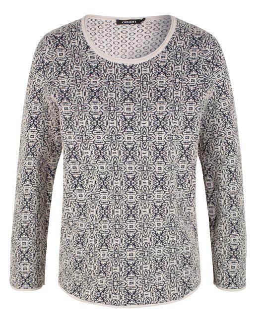 Olsen   White Pullover Long Sleeves   Lyst