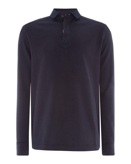 Howick | Blue Men's Signature Long Sleeve Rugby Shirt for Men | Lyst