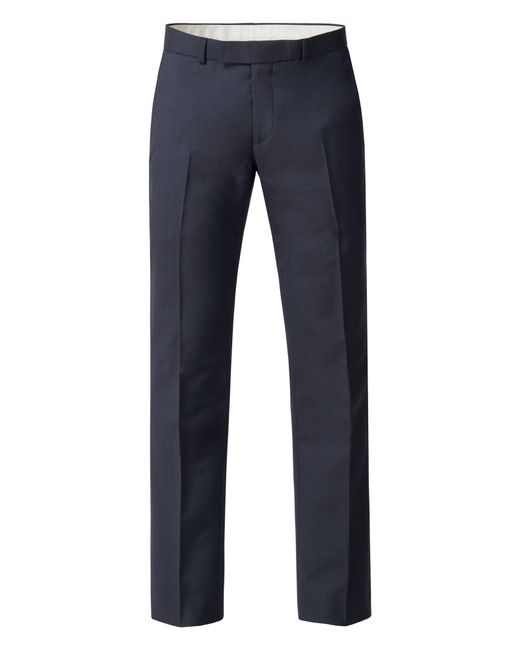 Racing Green - Men's Slate Blue Panama Tailored Trouser for Men - Lyst
