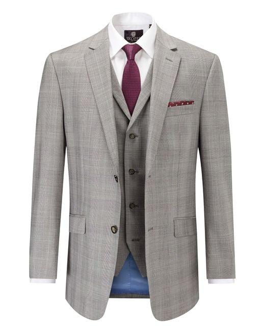 Skopes   Gray Cheltenham Classic Suit Jacket for Men   Lyst