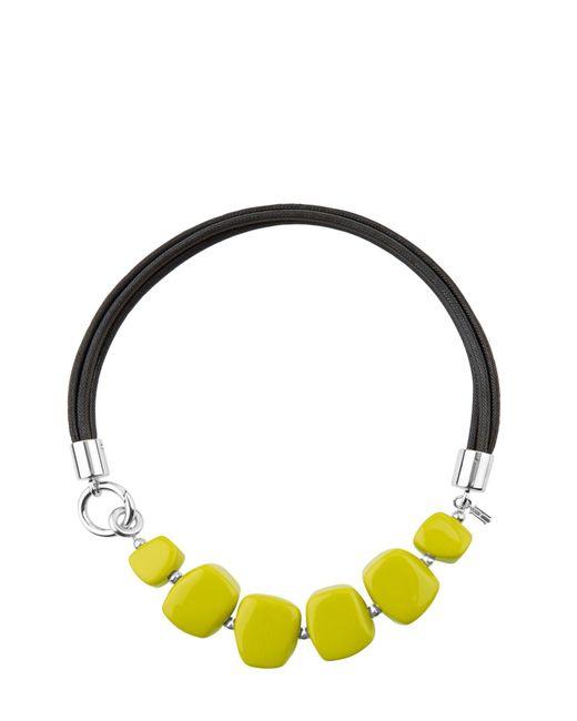 Hobbs - Yellow Naomi Necklace - Lyst