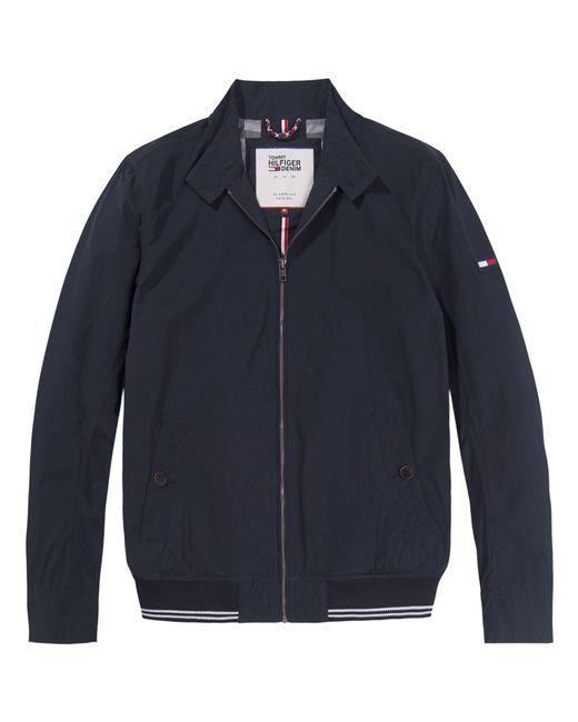 Tommy Hilfiger | Blue Men's Basic Harrington Jacket for Men | Lyst