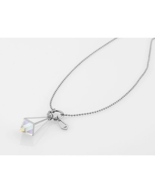 Storm | Metallic Silver Marizza Necklace | Lyst