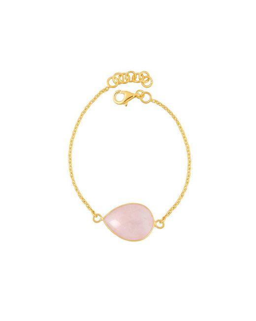 Juvi Designs | Pink Gold Vermeil Egadi Teardrop Bracelet | Lyst