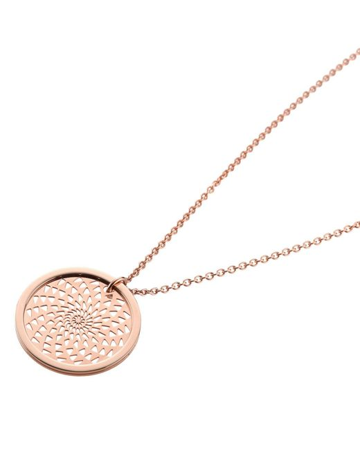 Storm - Metallic Denzi Necklace Rose Gold - Lyst