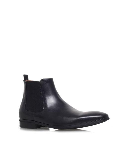 Kurt Geiger | Black Gerald Leather Boots Chelsea for Men | Lyst