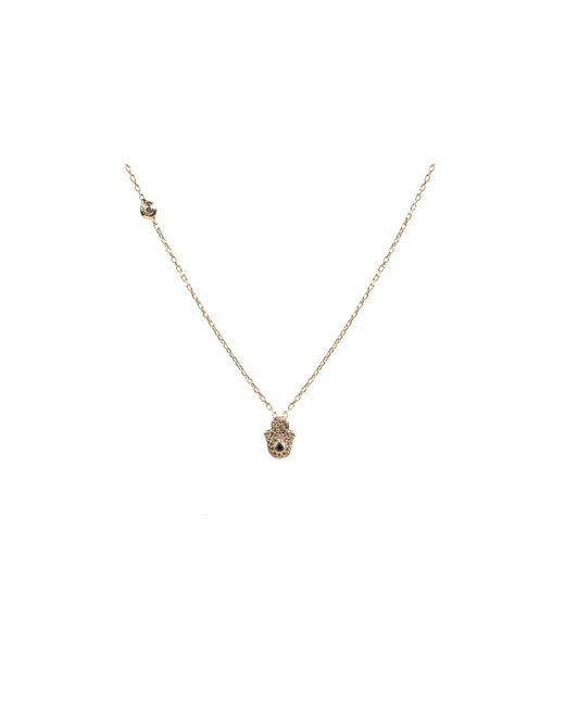 Latelita London   Metallic Hamsa Necklace Rosegold   Lyst