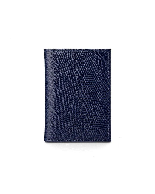 Aspinal | Blue Double Credit Card Case | Lyst