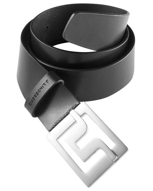 J.Lindeberg   Black Slater 40 Pro Leather Belt for Men   Lyst