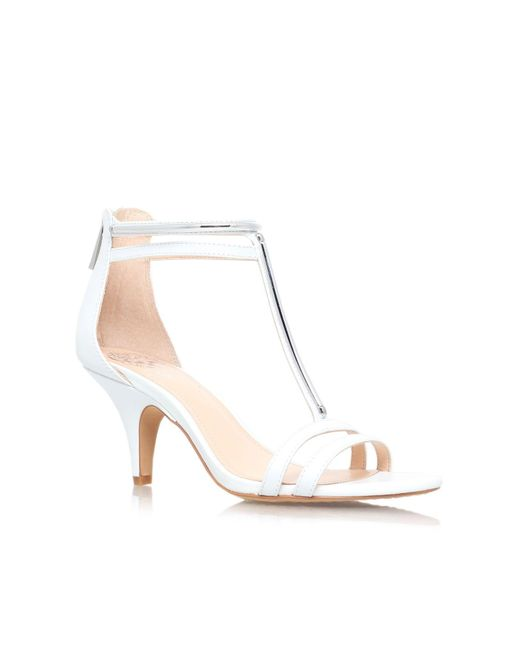 Vince Camuto | White Mitzy High Heel Sandals | Lyst
